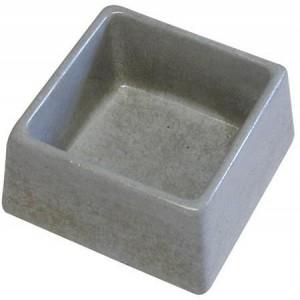 Miska beton čtverec 600 ml