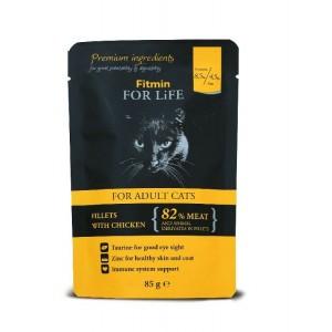 Kuřecí kapsička pro kočky 85 g FFL